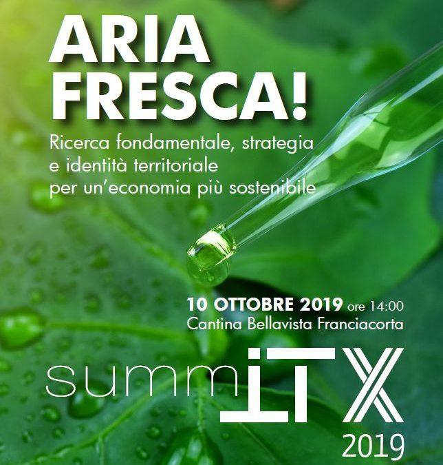 SUMMIT X: ARIA FRESCA!